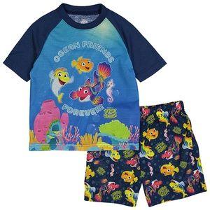 NWT Jim Henson's Splash & Bubbles Pajamas